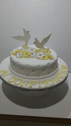 Dove Confirmation Cake Cakes In 2018 Pinterest