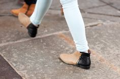 Gorgeous two-tone Zara boots.