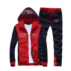 Excited to share some of our favorites with you. Men's Tracksuits ... Check it out here! http://lestyleparfait.co.ke/products/mens-tracksuits-fleece-hoodie-pants-navy-white-red?utm_campaign=social_autopilot&utm_source=pin&utm_medium=pin #fashionkenya #style #nairobi