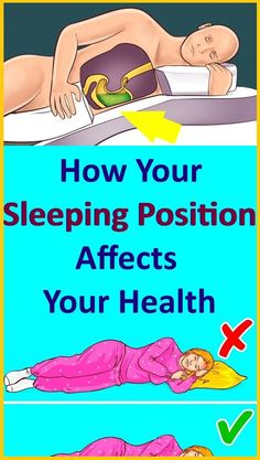 The Way You Sleep Reveals a Lot About Your Personality Neck And Back Pain, Neck Pain, How To Relieve Heartburn, People Sleeping, Wrinkled Skin, Hip Pain, Bad Breath, Snoring, Health Remedies