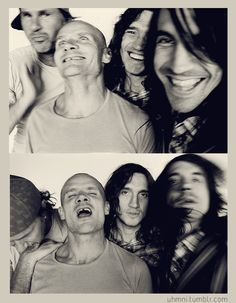 Red Hot Chili Peppers - Chad Smith, Flea, John Frusciante, Anthony Kiedis