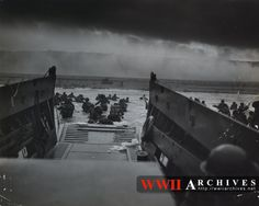 d day landing canvas