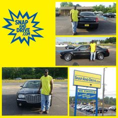 CONGRAT's to Eric Barnes ‼️On the purchase of his Chrysler 300 ...We thank you for your purchase Eric‼️. Apply now @ www.SnapAndDrive.com to get you one... ✅✅✅EVERYBODY IS APPROVED✅✅✅. IN A SNAP #snapanddrive #creditplug