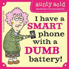 #AuntyAcid #AAttitude #Joke Aunty Acid's TOP TEN hilarious thoughts on TECHNOLOGY http://officialauntyacid.me/aunty-acid-s-top-ten-hilarious-thoughts-on-technology