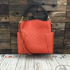 f071b6516e Louis Vuitton Monogram Empreinte Bagatelle Bag Abricot M50074