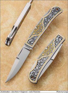 Engraved Knife, Knife Art, Horns, Knives, Hobbies, Horn, Knife Making, Knifes, Antlers