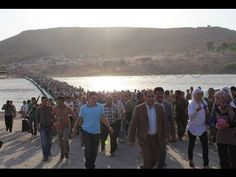 #Iraq: Thousands of Syrians Cross the Tigris - Thousands fleeing Syrian violence cross the #Tigris into #Kurdistan.