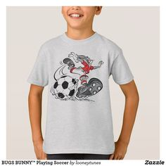 BUGS BUNNY™ Playing Soccer T-Shirt