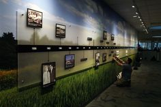 Clayton Homes Timeline Wall Mural « High Res Blog