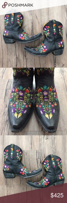 "Old Gringo ""Sora"" Shorties Beautiful ""Sora"" ankle boots by Old Gringo, only worn a few times and in excellent condition! These are amazing boots that will last a lifetime! Old Gringo Shoes Ankle Boots & Booties"