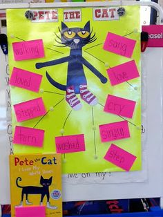 Action Verbs with Pete the Cat