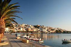 Crete harbor-Greece-