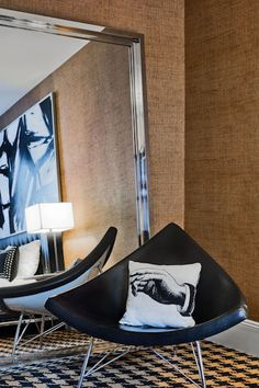 #Ameritania #Hotel #Travel #Luxury #InteriorDesign #NYC Interior Ideas, Interior Design, Hotel Suites, Hospitality Design, Living Rooms, Whimsical, Drama, Design Inspiration, Nyc