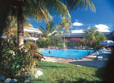 Pool at Aggie Greys Hotel, Apia, Western Samoa