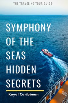 Symphony of the Seas Hidden Secrets - Read about hidden secrets to enjoy on the largest cruise ship in the world, Royal Caribbean's Sym - Caribbean Cruise Line, Royal Caribbean Ships, Caribbean Vacations, Caribbean Drinks, Cruise Tips, Cruise Travel, Cruise Vacation, Vacation Days, Honeymoon Cruise