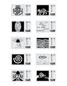 Retrospektive Heinz Beier | Illustrated Postage Stamps Design Inspiration | Award-winning Graphic Design | D&AD