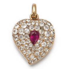 Russian Antique Hearts | Heart Pendant | - FABERGE, Antique Jewelry, Russian Art, Antiques ...