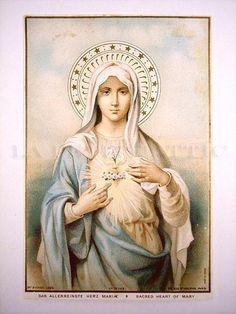 Sacred Heart of Mary (Das allerreinste Herz Maria)