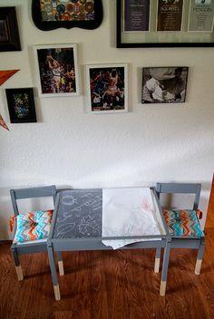 Sykes Place: Latt Hack: An Ikea Table Makeover