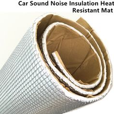 Car Audio Sound Deadener Vibration Control Proof Aluminum Foil Cotton Heat Insulation Mat Door Roof Trunk