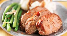 Slow Cooker Cheesy Turkey Meatloaf - EASY, Flavorful and so delicious!  www.GetCrocked.com