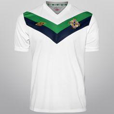 Netshoes - Camisa Umbro Seleção Irlanda do Norte Away 11/12 s/n°