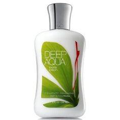 Bath & Body Works Deep Aqua Signature Collection Body Lotion 8 fl oz (236 ml)