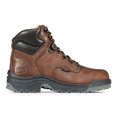 Timberland Women's 6 inch Titan Steel Toe Work Boots Brown Size 5.5 Med Timberland. $108.99
