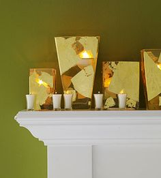 Golden Opportunity: Gold and Silver Holiday Decor
