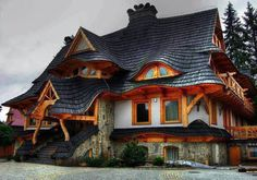 Creative Home Design in Zakopane, Poland