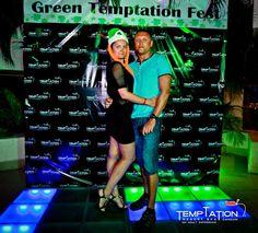 If it's green and sexy it's surely tempting! #GreenTemptationFest #StPatricks #TemptationResort
