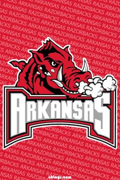 arkansas razorbacks Wallpaper   Colleges iPhone Wallpapers - Page 1   ohLays