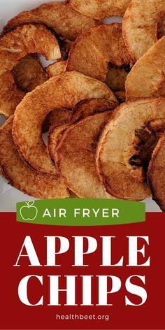 Air Fryer Recipes Vegetarian, Air Fryer Oven Recipes, Air Frier Recipes, Air Fryer Dinner Recipes, Cooking Recipes, Meal Recipes, No Calorie Foods, Low Calorie Recipes, Calories Apple
