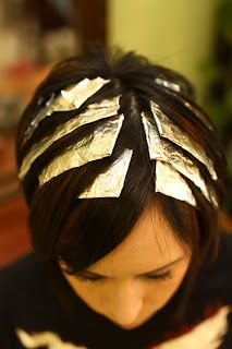 Budget Beautiful DIY: Hair Highlight Tutorial