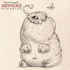 A little late, but it's still morning somewhere. #morningscribbles | 출처: CHRIS RYNIAK