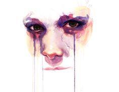 would love to have abstract watercolor portraits for covers on my next book series.