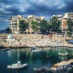 Πειραικη Attica Greece, Athens Greece, Neoclassical, Vintage Photos, Landscapes, Greek, River, Island, Retro