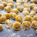 How To Make Homemade Tortellini — Cooking Lessons from The Kitchn - use mortad. - From scratch - Tortellini How To Make Tortellini, Homemade Tortellini, Tortellini Recipes, Cheese Tortellini, Homemade Pasta, How To Make Homemade, Pasta Recipes, Homemade Ranch, Pasta Sauces