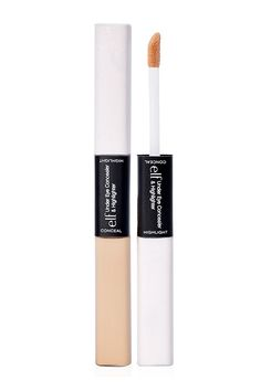 Who ever thought such a perfect product would only cost $3? Use the concealer side to expertly cover the pores, and layer the highlighter on top to make the area glow.