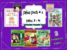 Creekside Teacher Tales   Giveaway #2  {Season of Giveaway Series}  Fairytale-Themed Prize Pack   (2 Teacher Packs  3 Children's Books paperback)