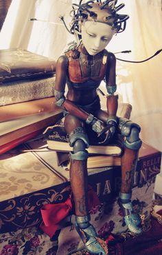 Steampunk Art Dolls de Rackus Ruckus -Blog Graphiste / Sculptures, photos, Ver & Vie….