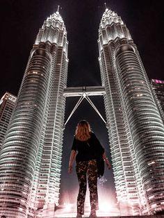 Malaysia: One Night in Kuala Lumpur Safari, Petronas Towers, Shoe Selfie, Wanderlust, Brooklyn Bridge, First Night, Family Travel, Cool Photos, Adventure Travel