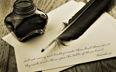 0 feather pen and inkwell Quill And Ink, Christian Pictures, Simple Sentences, Conte, Powerful Words, Love Letters, Writing Letters, Image Collection, Writing Prompts