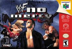 WWF No Mercy - Nintendo 64 Wrestling Games, Wrestling Videos, Classic Video Games, Retro Video Games, Playstation, Xbox, Wwf Superstars, Wwe Game, Nintendo 64 Games