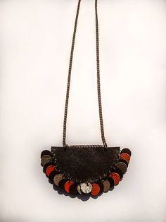 Handmade Leather Necklace for Women Women's by UniqueLeatherDesign