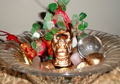 Create a Feng Shui Wealth Bowl to Stimulate Your Prosperity Energy-repinned https://www.facebook.com/DhomeBAZAAR