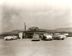 roadside cafe, ca.1955