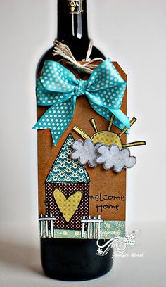Perfect for a housewarming gift!  the tag is superb.