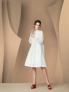 Aliz Arin - Shirtdress White Shirt Dress, Women's Dresses, Shirts, Fashion, Shirtdress, Moda, La Mode, Shirt, Fasion