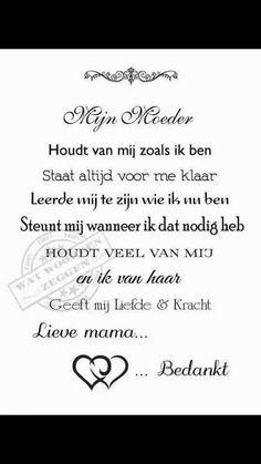 Mijn moeder